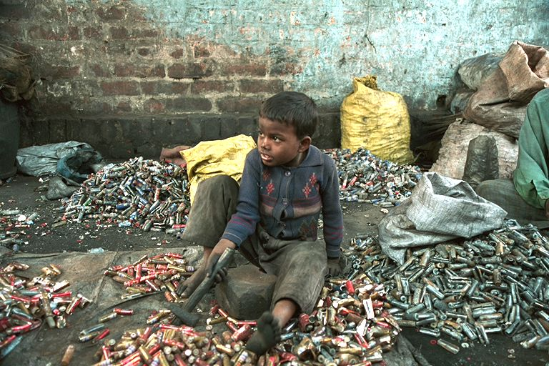 Child Labour & recycling of batteries